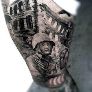 Muži's Tattoos For Military