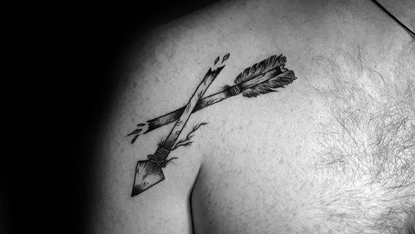 Broken Arrow Shoulder Guys Ideas para tatuajes