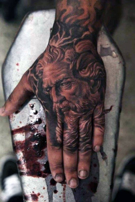 Hommes cool's Wrist Tattoos