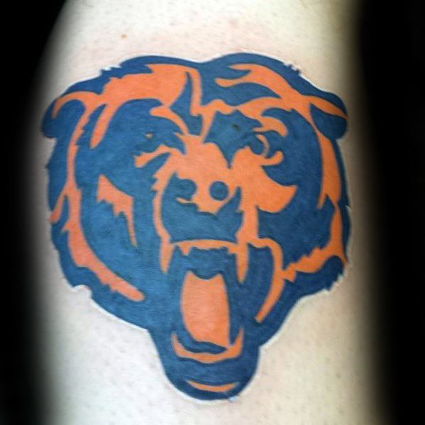 ออกแบบชิป Chicago Bears Mens Mens Am Arm