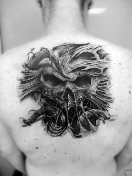 Amazing Mens Gothic Tattoo Designs