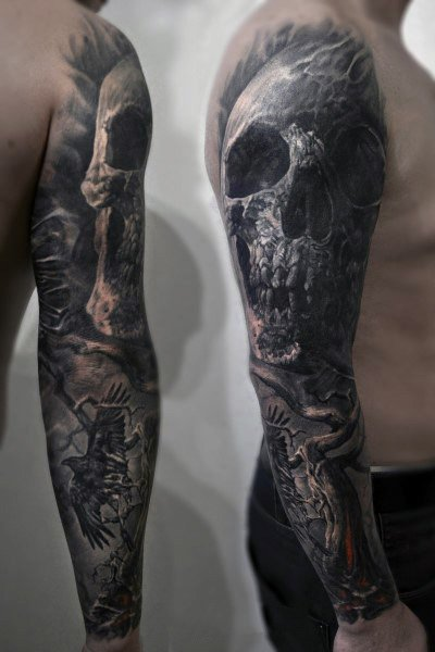 Gothic Mens Tattoos