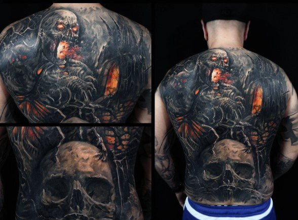 Gothic Tattoo Design Ideas For Men