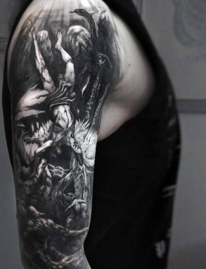 Gothic Tattoo Designs For Men