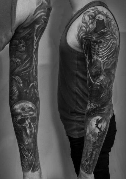 Gothic Tattoos For Gentlemen