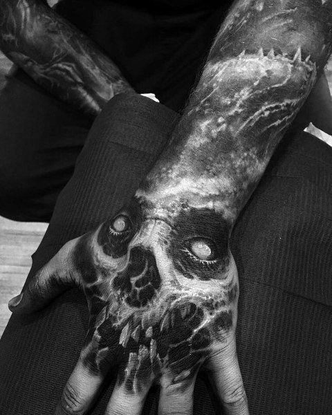 Mens Cool Gothic Tattoos