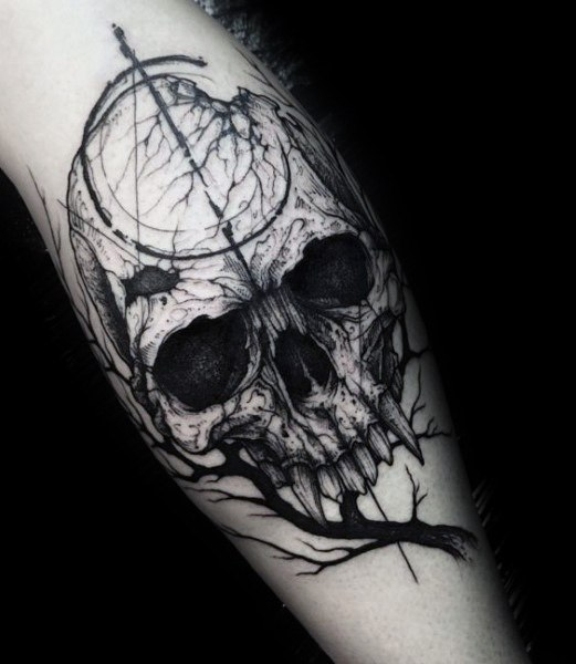 Stylish Mens Gothic Tattoos