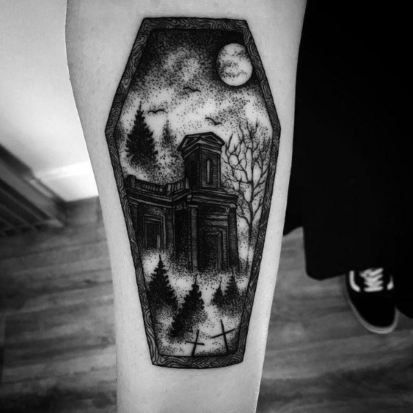 Tattoo Gothic Ideas For Guys