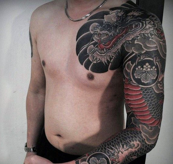 Hommes's Japanese Tattoo