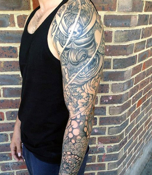 Hommes's Japanese Dragon Tattoos