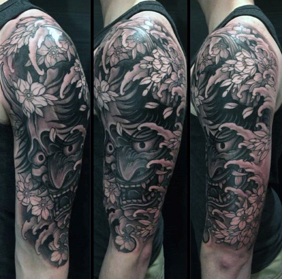 Hommes's Japanese Dragon Tattoo