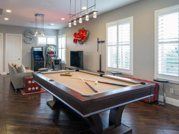 Simple Game Room Ideas For Guys