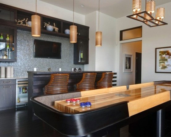 Small Home Bar With Game Room Ideas For Men