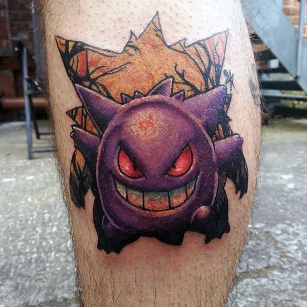 Gengar Guys Tattoo Designs