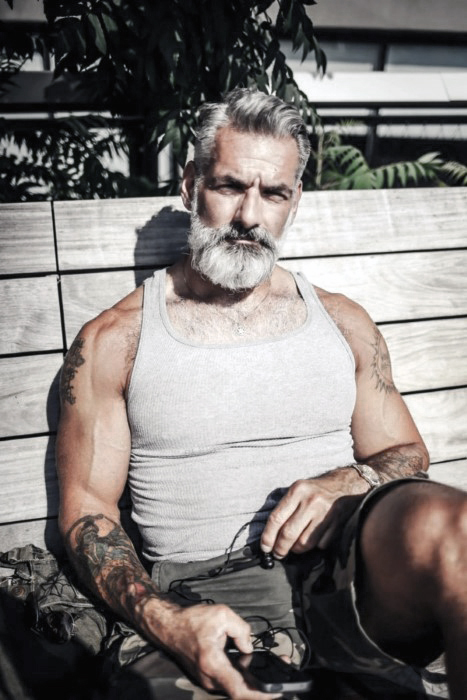 Grey Beards Ideas For Gentlemen