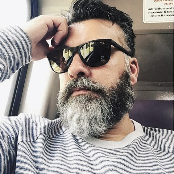 Masculine Grey Beard Inspiration Styles For Gentlemen