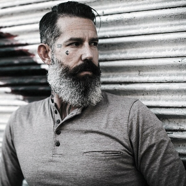 Rugged Grey Beard Styles For Men