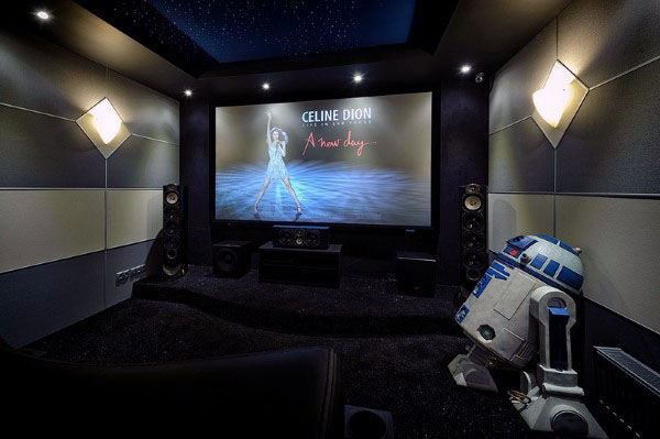 Amazing Home Theater Design Inspiration Masculine Decor