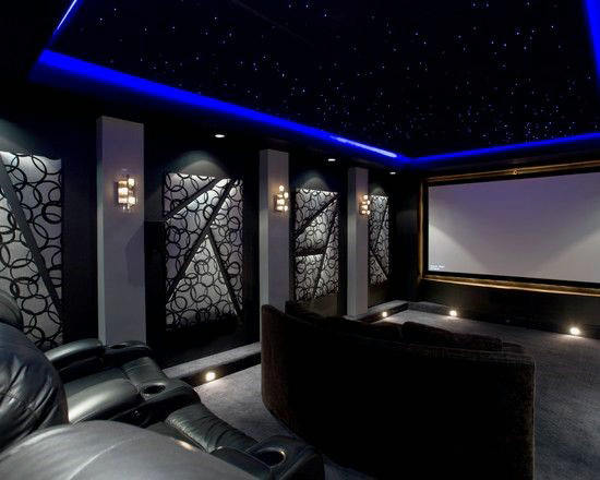 Fully Custom Movie Room Home Theater Design Ideas