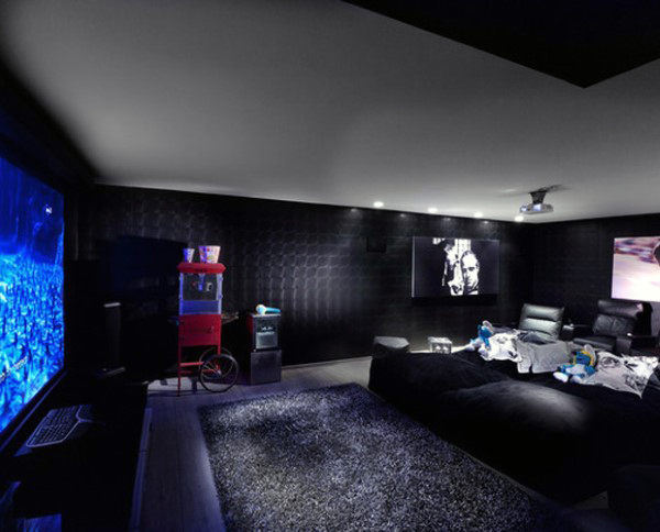 Luxury Screening Room Home Theater