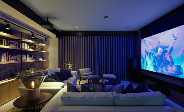 Small Private Home Theater Designs