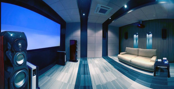 Small Well Designed Home Theaters