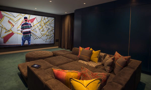 Urban Home Theater Design Ideas