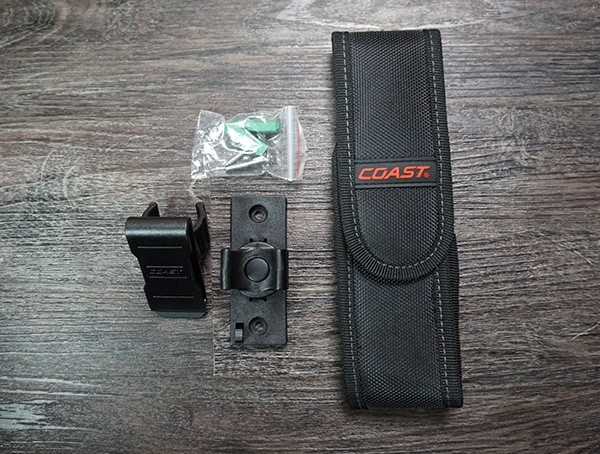 Coast Hp10r Flashlight Included Accessories
