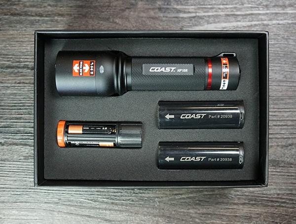Coast Hp10r Rechargeable Led Flashlight