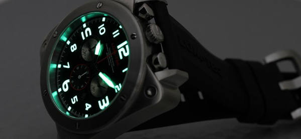 Men's Light Glow Watch