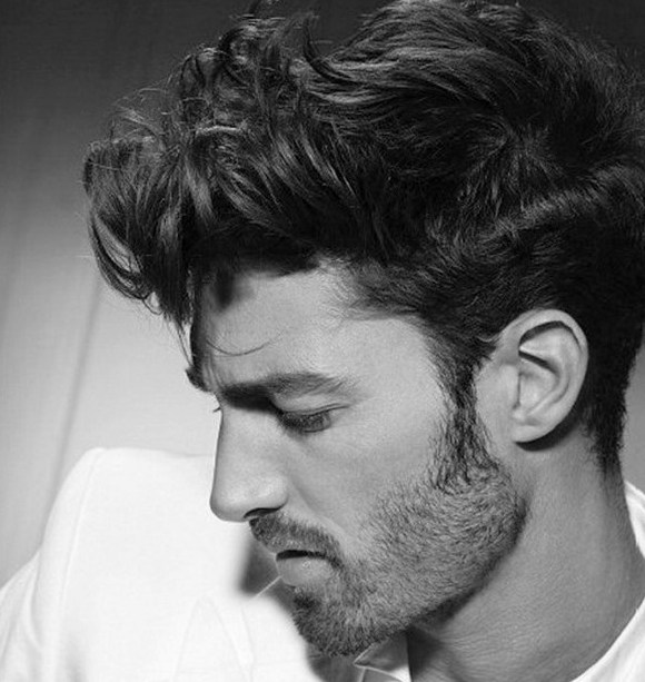 Short Curly Hairstyle Men