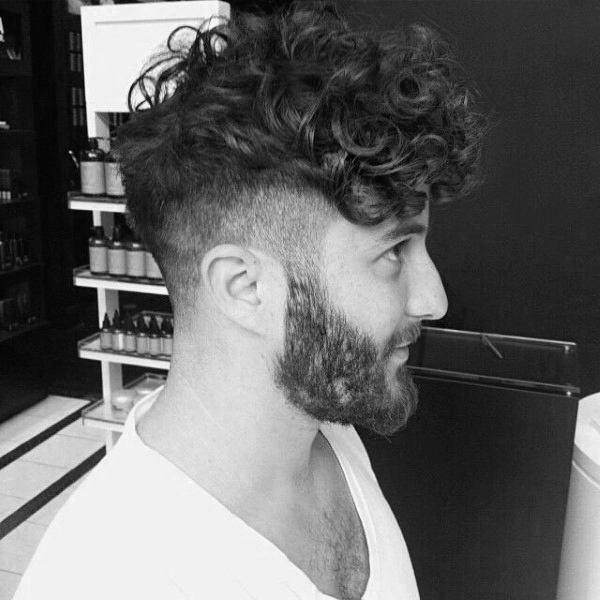 Hairstyles For Men With Short To Medium Curly Hair
