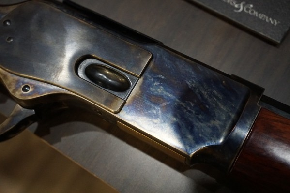 Lever Action Rifle Blue Finish