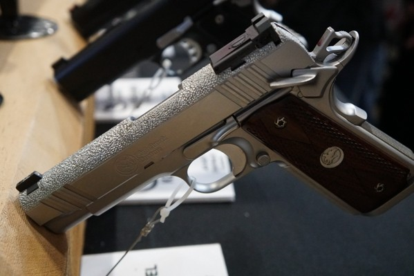 Nighthawk 1911 Cutom Slide Finish