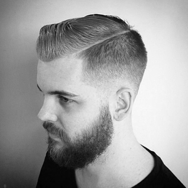 Taper Fade Haircut For Men , 50 Masculine Tapered Hairstyles