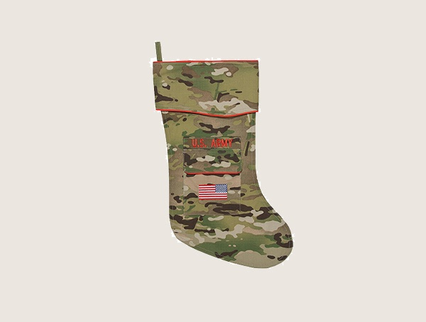 Camosock Army Christmas Camouflage Tactical Stocking