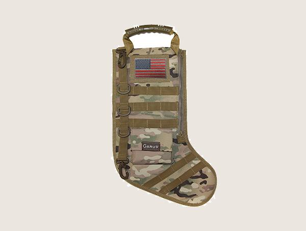 Garud Multicam Christmas Tactical Stocking With Molle Gear