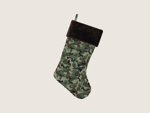 Northlight Camouflage Christmas Tactical Stocking