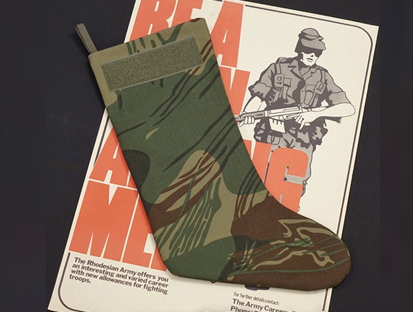 Oc Tactical Rhodesian Camouflage Christmas Tactical Stockings