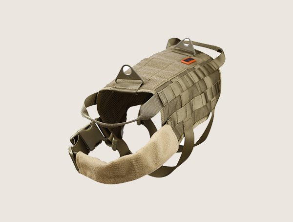 Onetigris Tactical Dog Harness With Mesh Handles