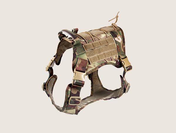 Feliscanis Multicam Tactical Harness For Dogs