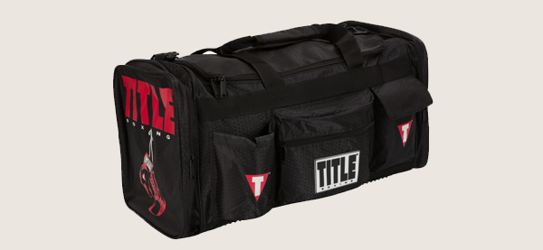 Title Boxing Deluxe Gear Bag For Men