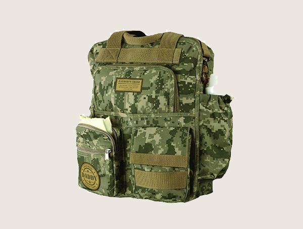 Lillian Rose Military Daddy Tactical Baby Diaper Bag For Men