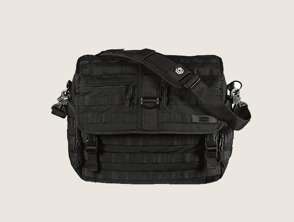 Mission Critical Messenger Tactical Diaper Bag For Men