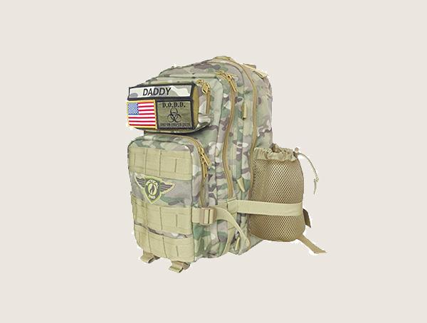 Tactical Dad Camo Dad On Diaper Duty Tactical Diaper Bag For Men