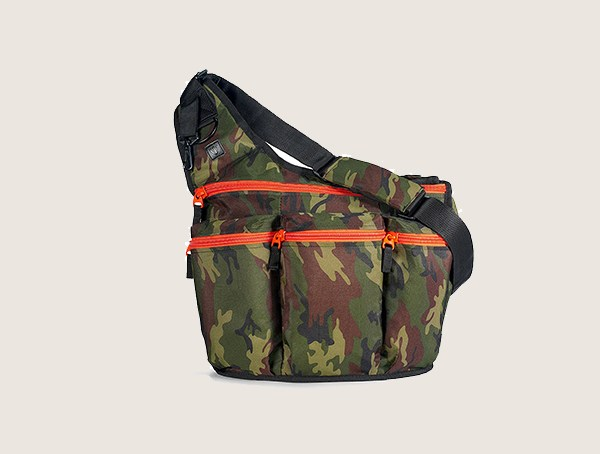 Diaper Dude Camouflage Changing Pad Messenger Tactical Diaper Bags For Men