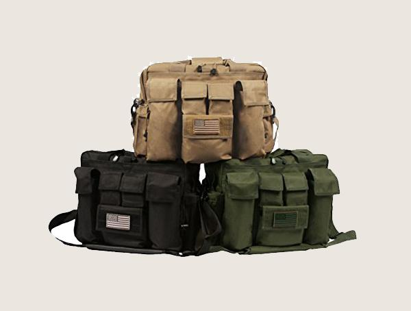La Police Gear Jumbo Bail Out Tactical Diaper Bag For Men