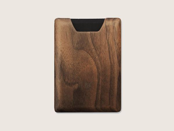 Madera Union Walnut Wood Wallet For Men