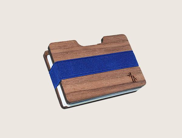 Wooden Accessories Co Bamboo Wood Wallet For Men