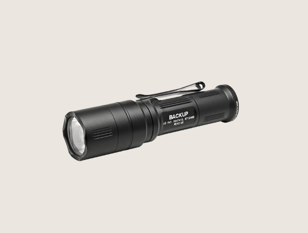 Surefire Backup Click Switch Dual Output Led Tactical Flashlight For Men